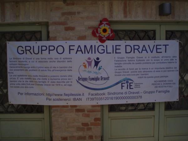 Striscione del Gruppo Dravet